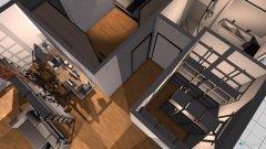 Raumgestaltung Dachwohnung 5 wohnzimmer in der Kategorie Wohnzimmer