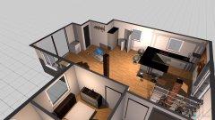 Raumgestaltung Dachwohnung Schlauch weg küche tausch in der Kategorie Wohnzimmer