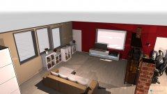 Raumgestaltung Dachwohnung Schlauch weg in der Kategorie Wohnzimmer