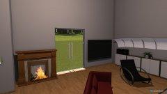 Raumgestaltung dachwohnung in der Kategorie Wohnzimmer