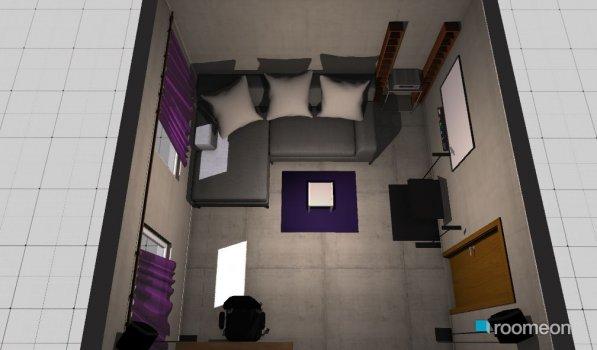 Raumgestaltung Daniels Zimmer in der Kategorie Wohnzimmer