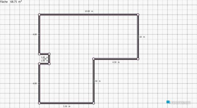 Raumgestaltung DHH EG Birkenfeldgasse 11 in der Kategorie Wohnzimmer