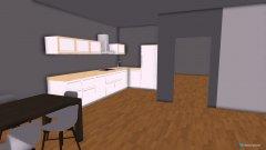 Raumgestaltung Dnevna hiša in der Kategorie Wohnzimmer
