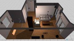Raumgestaltung dnevna soba in der Kategorie Wohnzimmer