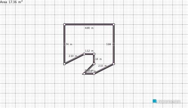Raumgestaltung dnevna in der Kategorie Wohnzimmer