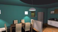 Raumgestaltung Dnevni boravak in der Kategorie Wohnzimmer