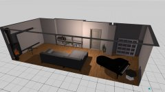 Raumgestaltung Donaustraße in der Kategorie Wohnzimmer
