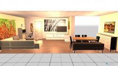 Raumgestaltung draft wohnzimmer in der Kategorie Wohnzimmer