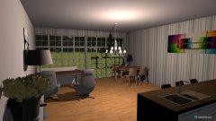 Raumgestaltung DreamFit in der Kategorie Wohnzimmer