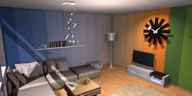 Raumgestaltung Dulux Showroom 2 in der Kategorie Wohnzimmer