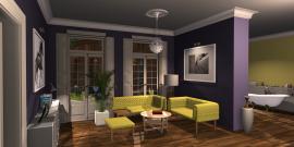 Raumgestaltung Dulux Showroom in der Kategorie Wohnzimmer
