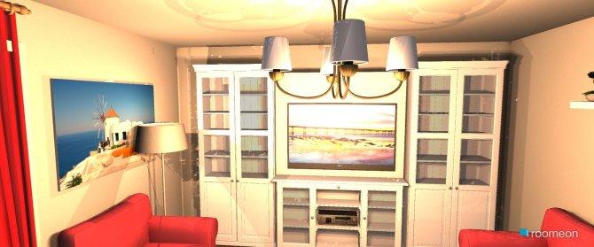 Raumgestaltung Durchbruch in der Kategorie Wohnzimmer