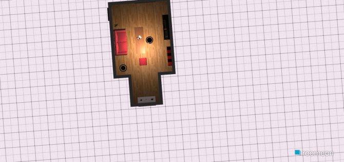 Raumgestaltung dyo living room in der Kategorie Wohnzimmer