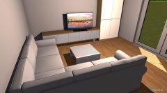 Raumgestaltung Edinvest 178 - salon in der Kategorie Wohnzimmer