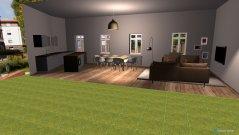 Raumgestaltung EG 0.8 und 0.9 in der Kategorie Wohnzimmer