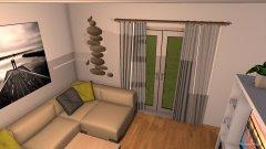 Raumgestaltung EG 1. Entwurf in der Kategorie Wohnzimmer