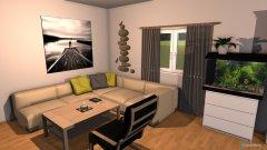Raumgestaltung EG 3. Entwurf in der Kategorie Wohnzimmer