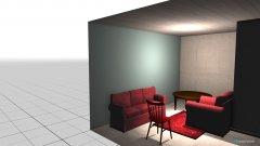 Raumgestaltung EG Falkensee Wohnzimmer in der Kategorie Wohnzimmer