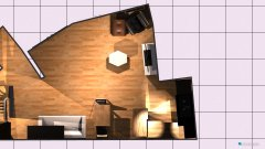 Raumgestaltung EG Schwepp Küche mit L und Esstisch angebaut in der Kategorie Wohnzimmer