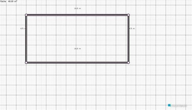 Raumgestaltung EG Sibesse in der Kategorie Wohnzimmer