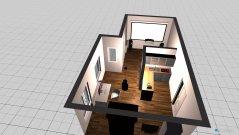 Raumgestaltung Eigentumswohnung in der Kategorie Wohnzimmer