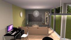 Raumgestaltung Ein Wohnzimmer in der Kategorie Wohnzimmer