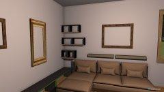Raumgestaltung Einrichtung Regal in der Kategorie Wohnzimmer