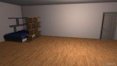 Raumgestaltung einZimmer in der Kategorie Wohnzimmer