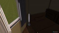 Raumgestaltung Einzimmerwohnung 1 in der Kategorie Wohnzimmer