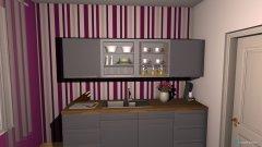Raumgestaltung Einzimmerwohnung (Übung) in der Kategorie Wohnzimmer