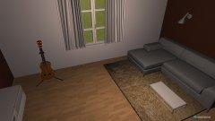 Raumgestaltung Entwurf 1 Wohnzimmer in der Kategorie Wohnzimmer