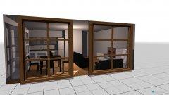 Raumgestaltung Entwurf 1 in der Kategorie Wohnzimmer