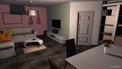 Raumgestaltung Entwurf 3 in der Kategorie Wohnzimmer