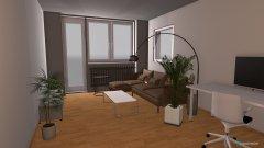 Raumgestaltung Entwurf 5 Raumtrenner Beamer in der Kategorie Wohnzimmer