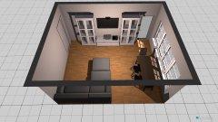 Raumgestaltung Entwurf Wohnzimmer in der Kategorie Wohnzimmer