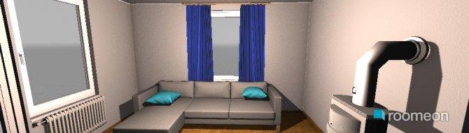 Raumgestaltung Entwurf1 in der Kategorie Wohnzimmer