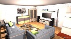 Raumgestaltung Entwurf_2_2 in der Kategorie Wohnzimmer