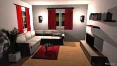 Raumgestaltung Entwurf in der Kategorie Wohnzimmer