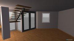 Raumgestaltung Erdgeschoß in der Kategorie Wohnzimmer