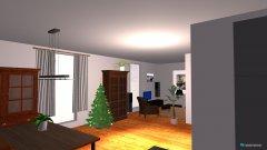 Raumgestaltung Erdgeschoss in der Kategorie Wohnzimmer