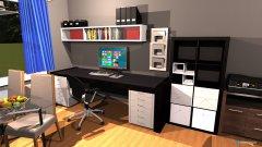 Raumgestaltung Erlengasse Musikraum in der Kategorie Wohnzimmer