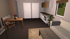Raumgestaltung erste Wohnung in der Kategorie Wohnzimmer