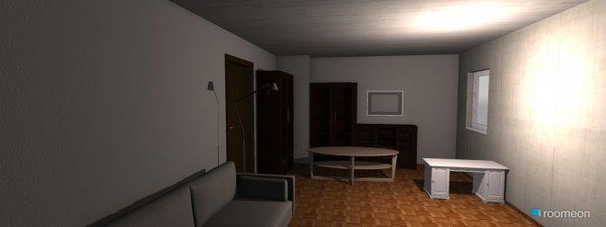 Raumgestaltung erster entwurf in der Kategorie Wohnzimmer