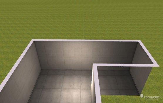 Raumgestaltung erster Versuch in der Kategorie Wohnzimmer