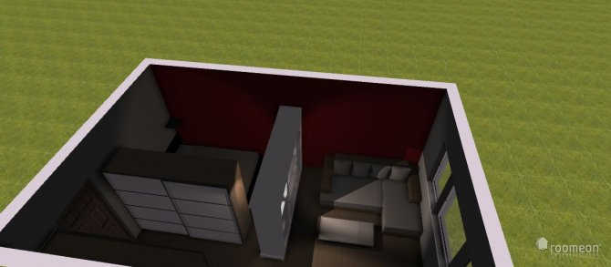 Raumgestaltung Erstes WG Zimmer in der Kategorie Wohnzimmer