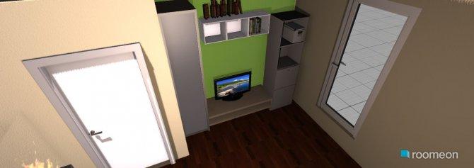 Raumgestaltung Ess- und Wohnzimmer in der Kategorie Wohnzimmer