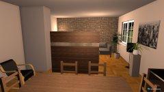 Raumgestaltung Ess- Wohnzimmer in der Kategorie Wohnzimmer