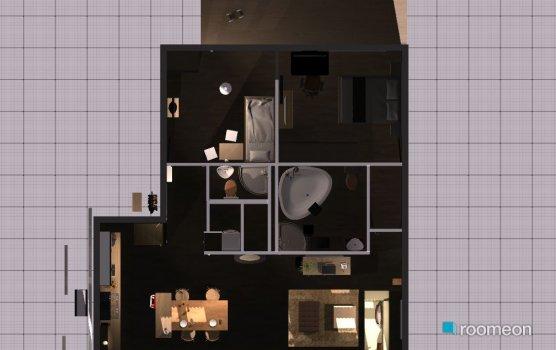 Raumgestaltung etw-all_Tresen5cmRichtungTerresse_v42 in der Kategorie Wohnzimmer