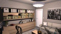 Raumgestaltung Fabian Wohnzimmer in der Kategorie Wohnzimmer
