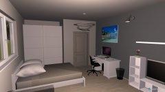Raumgestaltung FELIX ZIMMER in der Kategorie Wohnzimmer